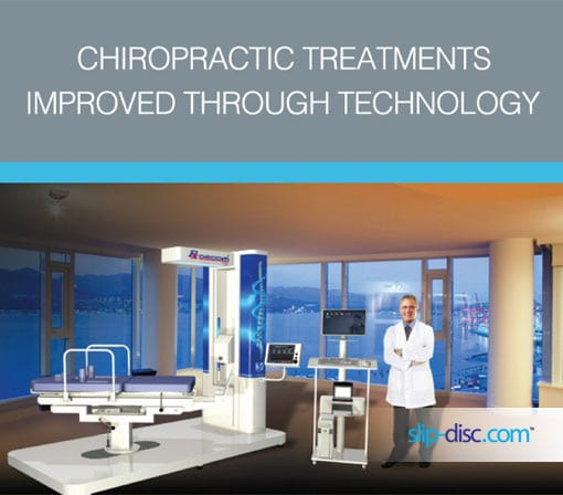 BEST chiropractic treatment is through technology