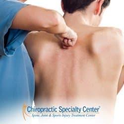 chiropractors fixing slip-disc