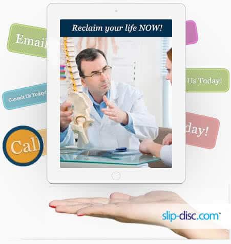 slip disc consultation