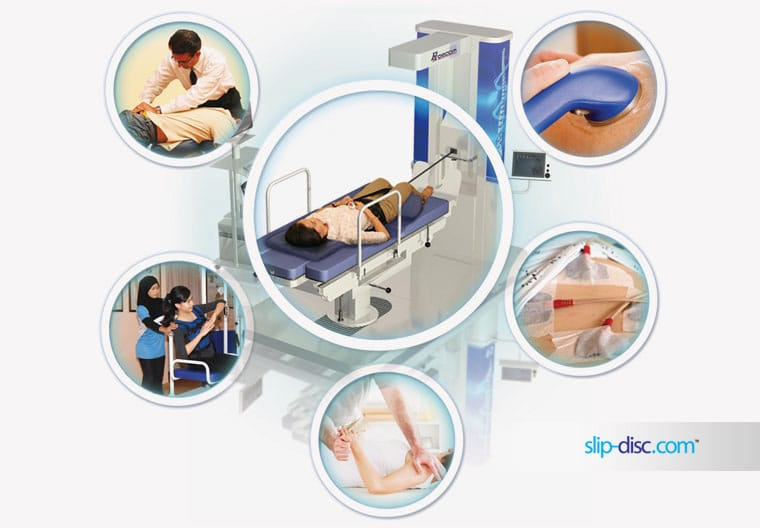 integrative slip disc treatment by chiropractic and physiotherapy